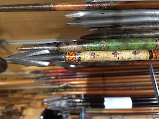 Japanese decorated arrow head